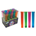 True Brands 1483 1.5-oz Neon Tube Shot Glasses, Plastic