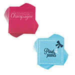 "True Brands 2081 Cocktail Napkins w/ Classy Phrases, 5"" x 5"", 3-ply"
