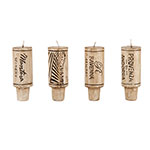 True Brands 2267 Wine Cork Candles - Fits Any Wine Bottle