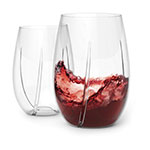 True Brands 2950 Aerating Wine Cups - Plastic
