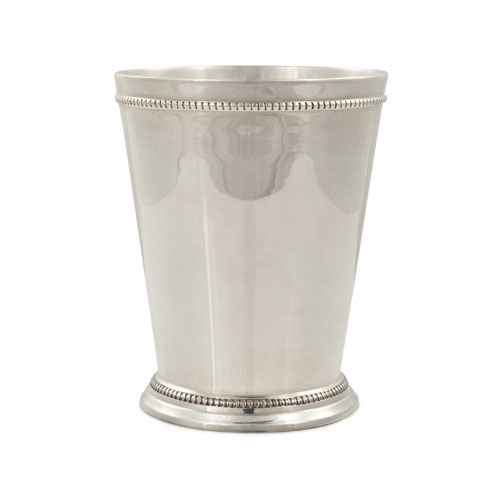 True Brands 3268 16-oz Mint Julep Cup, Copper w/ Sterling Silver Plating