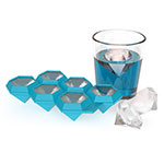 True Brands 3350 Diamond Ice Cube Tray - Silicone