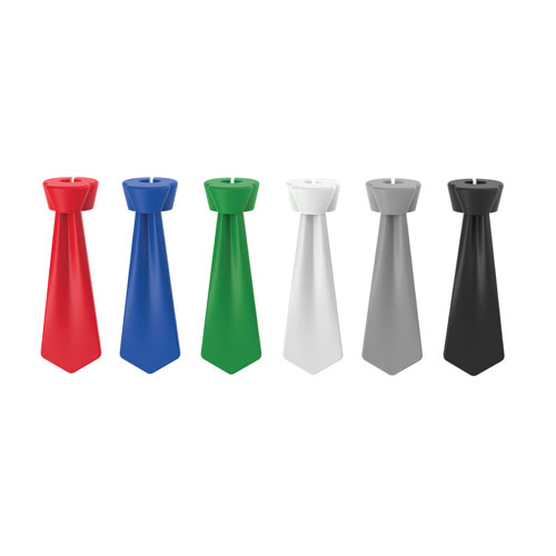 True Brands 3387 Windsor Knot Wine Glass Charms, Silicone
