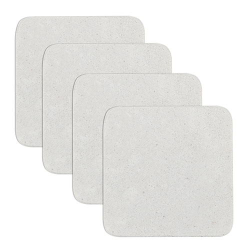 "True Brands 3794BULK Coaster - Sandstone, 4"" x 4"""