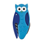 True Brands 8508 Owl Corkscrew w/ Small Knife & Bottle Opener