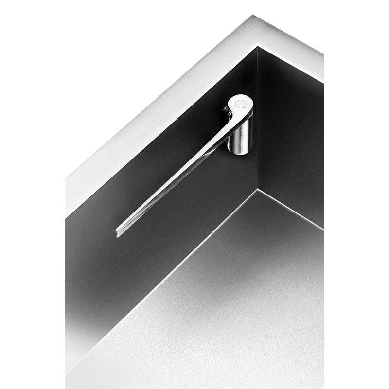 Magisso 70104 Straight Dishcloth Holder w/ Magnets, Stainless
