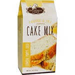 The Invisible Chef 1158 16-oz Coffee & Tea Cake Mix - Lemon Poppy Seed