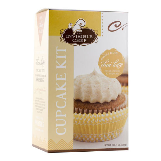 The Invisible Chef 1509 24-oz Cupcake & Frosting Kit - Chai Latte