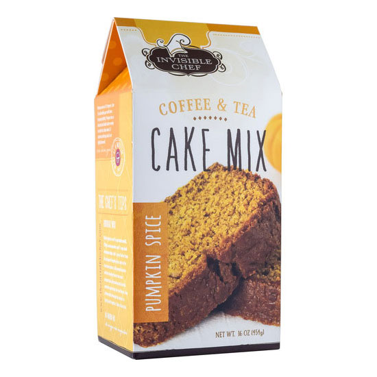 The Invisible Chef 1554 16-oz Coffee & Tea Cake Mix - Pumpkin Spice