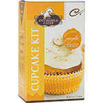 The Invisible Chef 1585 23-oz Cupcake & Frosting Kit - Pumpkin