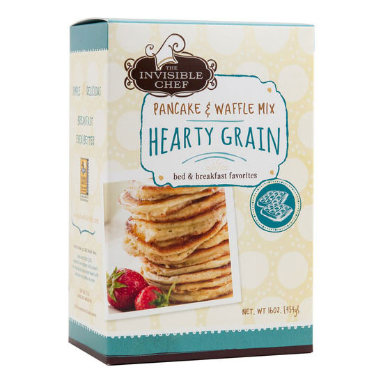 The Invisible Chef 1653 16-oz Pancake & Waffle Mix - Hearty Grain