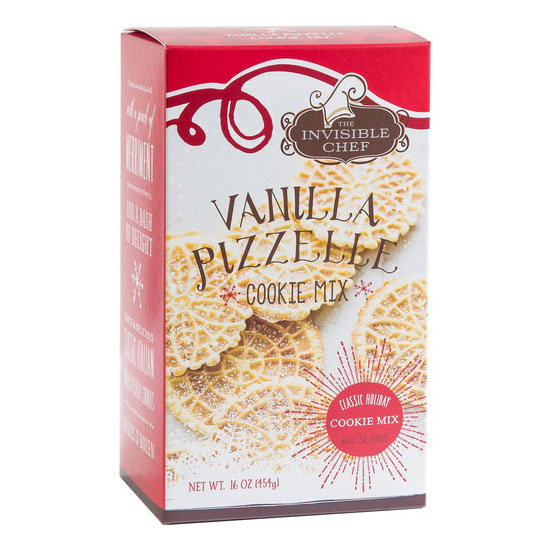 The Invisible Chef 1783 16-oz Cookie Mix - Vanilla Pizzelle