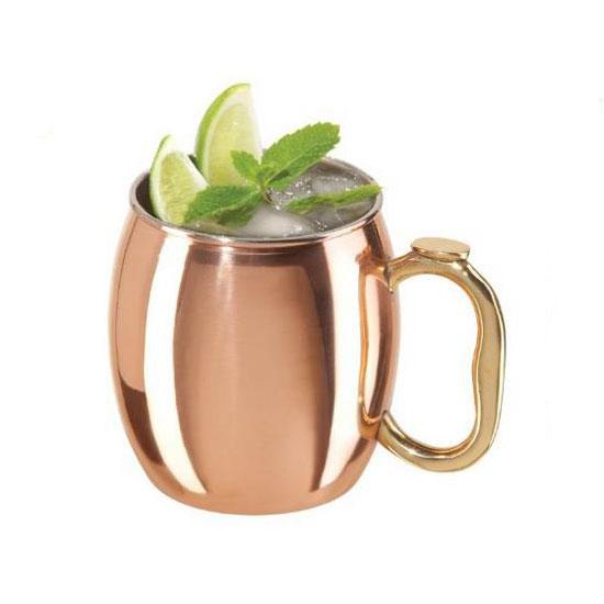 Oggi 9007 20-oz Moscow Mule Mug, Copper
