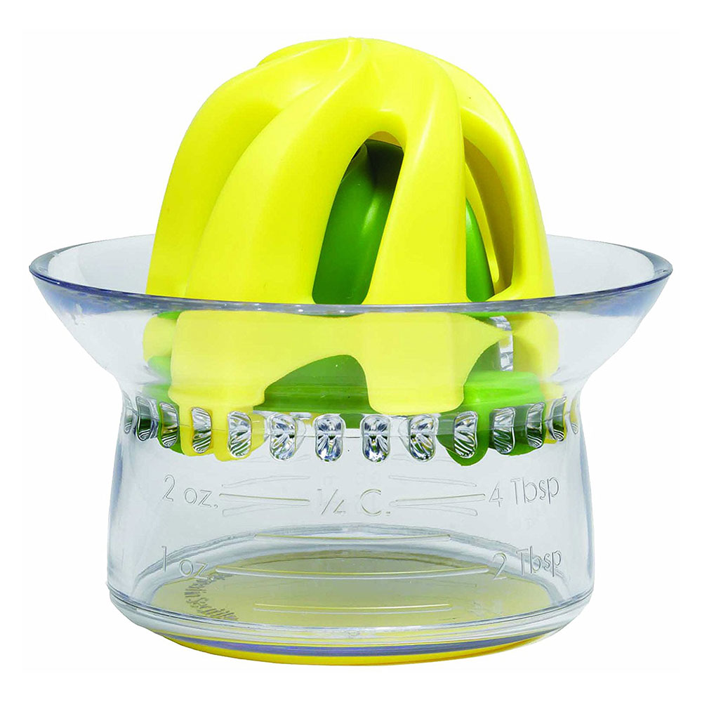 Chef'n 102-569-145 Juicester Jr.™ Citrus Juicer w/ Container, Plastic