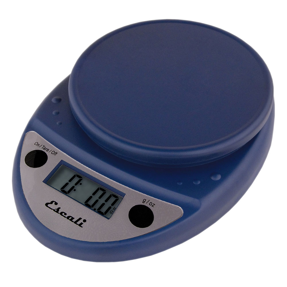 "Escali SCDG11BLR 11-lb Digital Scale - 8.5"" x 6"", Royal Blue"