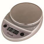 "Escali SCDG11CHR 11-lb Digital Scale - 8.5"" x 6"", Chrome"