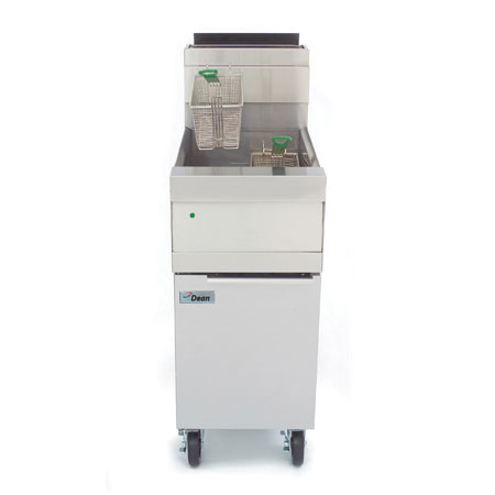 Dean D60G Gas Fryer - (1) 75-lb Vat, Floor Model, LP