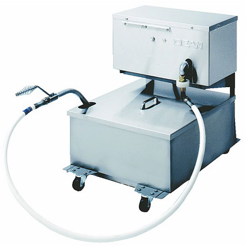 Dean MF90/110 110-lb Commercial Fryer Filter - Gravity, 120v