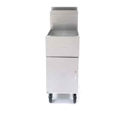 Dean SM50G Gas Fryer - (1) 50-lb Vat, Floor Model, LP