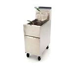 Dean SR52G Gas Fryer - (1) 50-lb Vat, Floor Model, NG