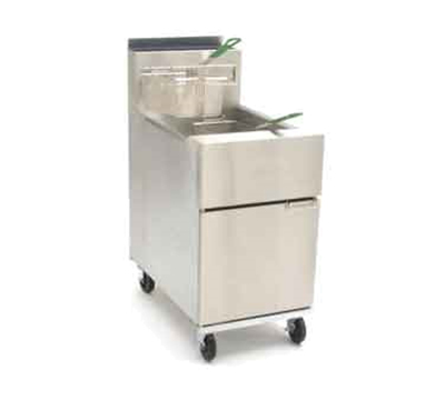 Dean SR62G Gas Fryer - (1) 75-lb Vat, Floor Model, NG