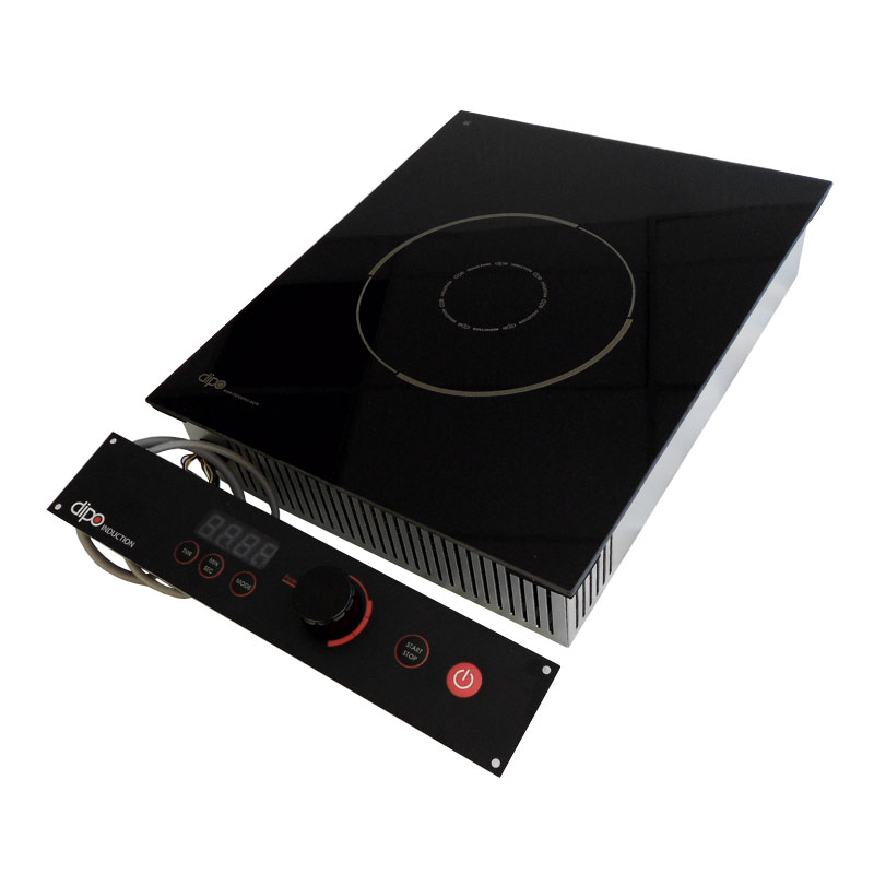 DIPO NBK35-A Drop-In Commercial Induction Cooktop w/ (1) Burner - 3,500 watts, 208-240v/1ph