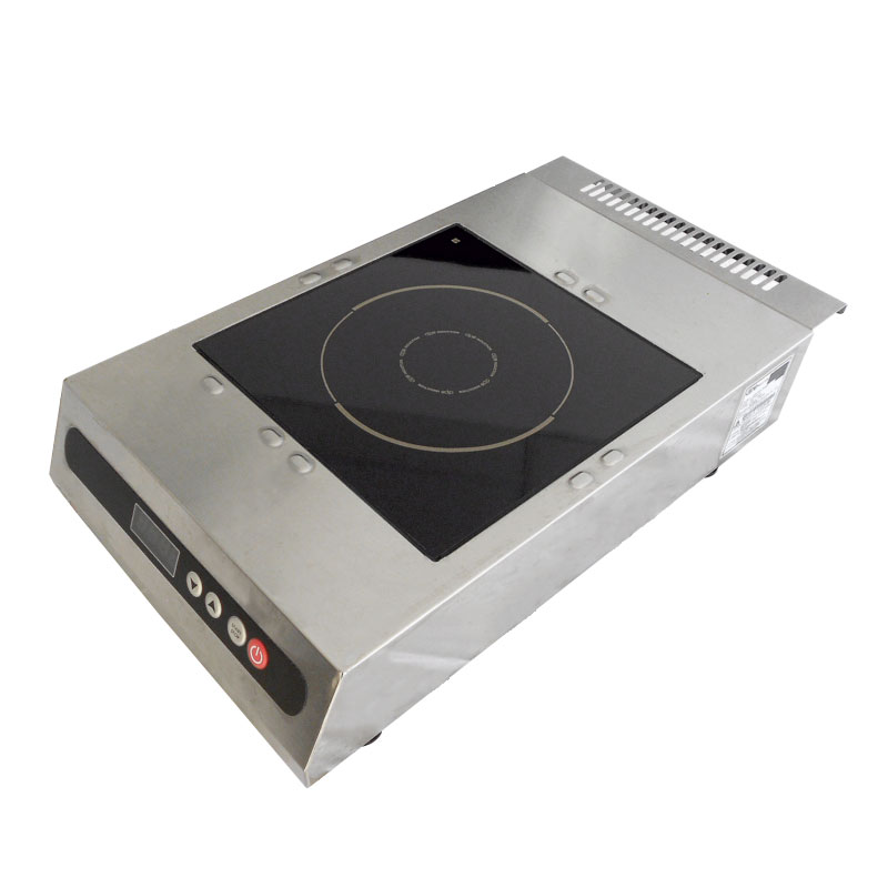 DIPO DPCK118-A Countertop Commercial Induction Cooktop w/ (1) Burner - 1,800 watts, 120v