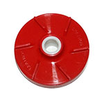 Crathco 1008M Red Mini Bowl Milkfat Impeller for Milk Based Products or Heavy Pulp