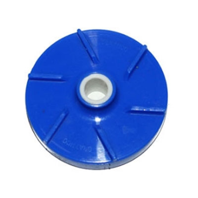 Crathco 1161M Blue Mini Bowl Milkfat Impeller, for Milk Based Products or Heavy Pulp
