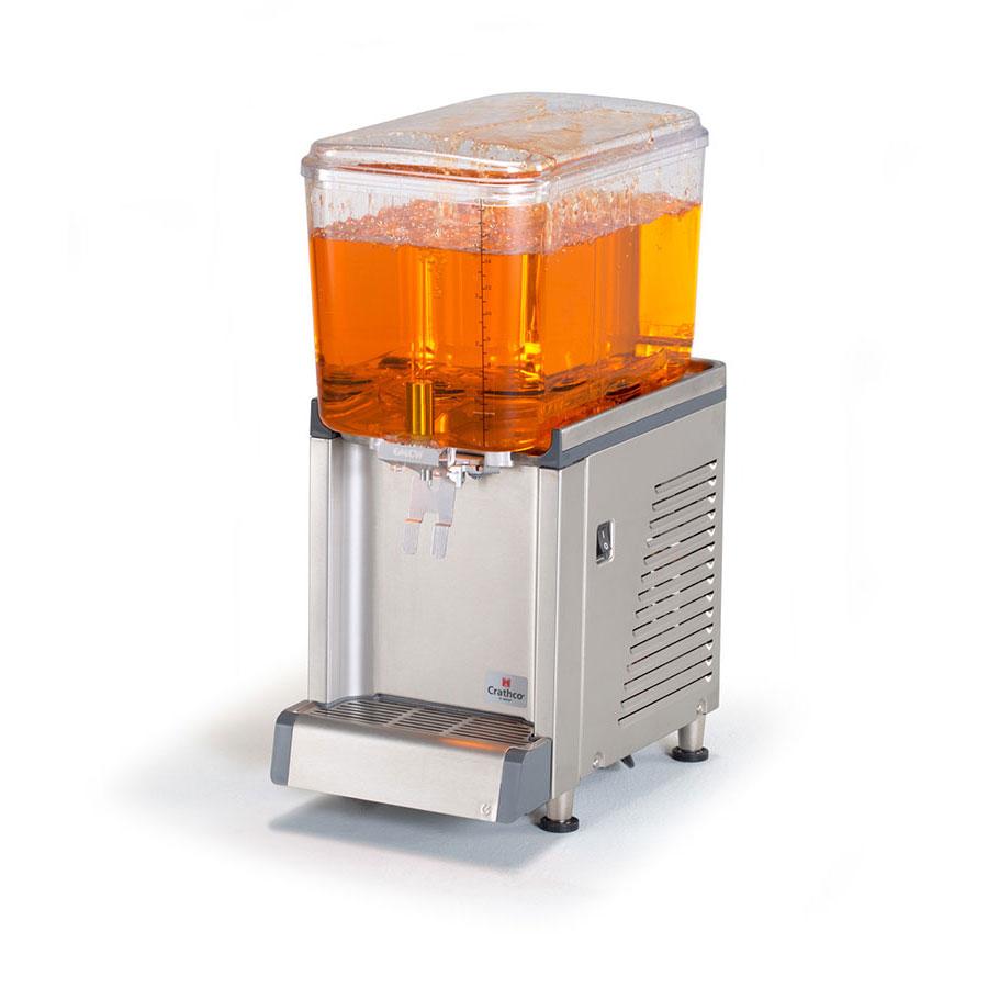 "Crathco CS-1D-16-S 10.5"" Cold Beverage Dispenser w/ 4.75-gal Bowl, 115v"