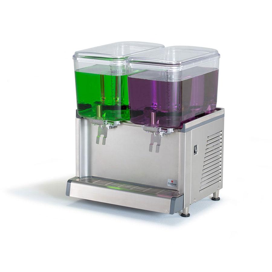 "Crathco CS-2D-16 20.4"" Cold Beverage Dispenser w/ (2) 4.75-gal Bowls, 115v"