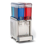"Crathco CS-2E-16-S 10.5"" Cold Beverage Dispenser w/ (2) 2.4-gal Bowls, 115v"