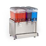 "Crathco CS-3D-16-S 20.4"" Cold Beverage Dispenser w/ (1) 4.75-gal & (2) 2.4-gal Bowls, 115v"