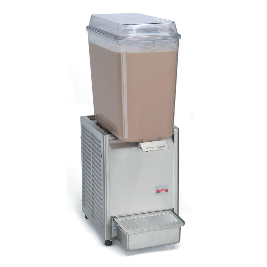 "Crathco D15-3 10"" Premix Cold Beverage Dispenser w/ 5-gal Bowl, 120v"