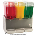 "Crathco D35-3 25.5"" Premix Cold Beverage Dispenser w/ (3) 5-gal Bowls, 120v"