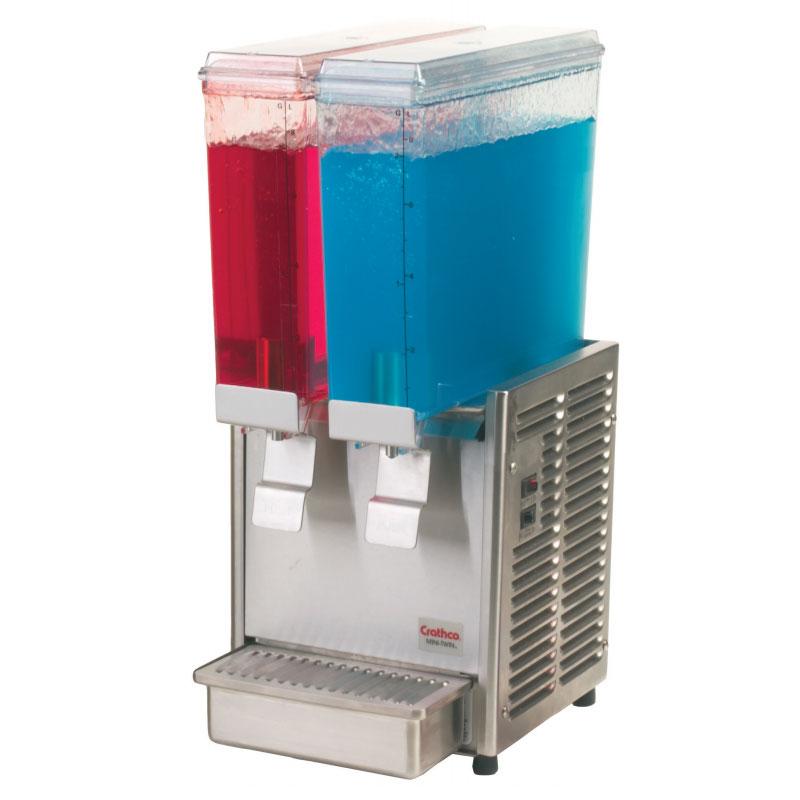 """Crathco E29-3 11.25"""" Premix Cold Beverage Dispenser w/ (2) 2.4-gal Bowls, 120v"""