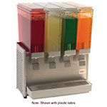 "Crathco E49-3 20.5"" Premix Cold Beverage Dispenser w/ (4) 2.4-gal Bowls, 120v"