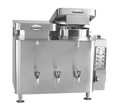 Grindmaster 67710(E) Twin Coffee Urn w/ 10-gal/Liner Capacity, Automatic, Pump Type