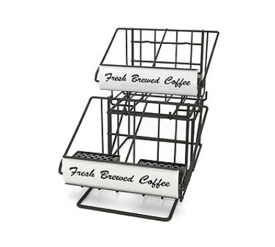 Grindmaster 70665 Airpot Rack, (2) 2-Pot Wide Racks & (1) 2-Pot Riser, Holds (4) 2.2 L Airpots