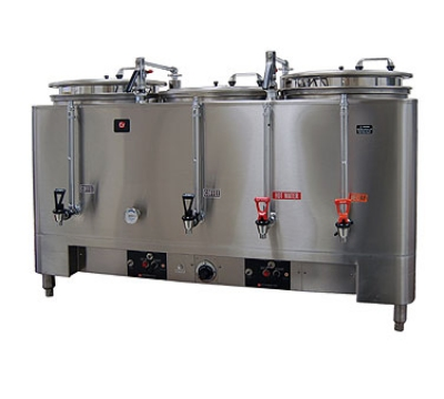 Grindmaster 7303(E) Automatic Triple 3-gal Coffee Urn w/ Pump Style Brew, Single Wall 120/208/1 V