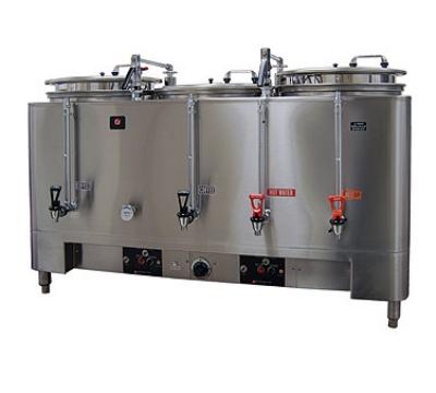 Grindmaster 7306E Automatic Triple 6-gal Coffee Urn w/ Pump Style Brew, Single Wall 120/208/1 V