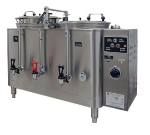 Grindmaster 7446E Twin Coffee Urn w/ 6-gal/Liner Capacity, Automatic, Fresh Water Heat Exchange, 208-240v/1ph