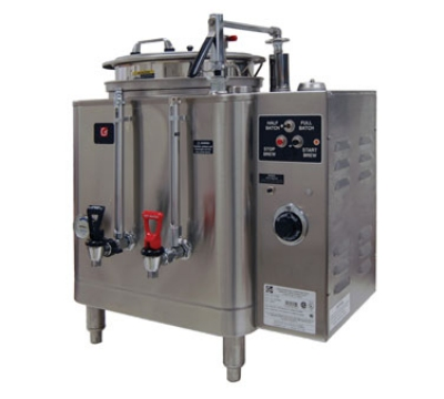 Grindmaster 7713E Single Coffee Urn w/ 3-gal/Liner Capacity, Automatic, Pump Style, 120-208v/1ph