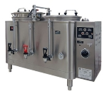Grindmaster 7773E Twin Coffee Urn w/ 3-gal/Liner Capacity, Automatic, Pump Style, 120v-208v/1ph