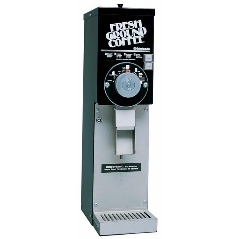 Grindmaster 875S/BLACK Coffee Grinder w/ (1) 3-lb Hopper, Adjustable Grind Setting, 115v