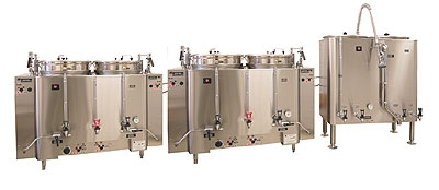 Grindmaster AMV-120E Coffee Brewing & Holding Urn System w/ 120-gal Capacity & 80-gal Holding Tank, 120-208v/1ph