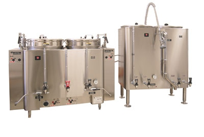 Grindmaster AMV-80(E) 4803 80 gallon Banquet Brewing System AMW Coffee Urn, Pump Type, 480/3