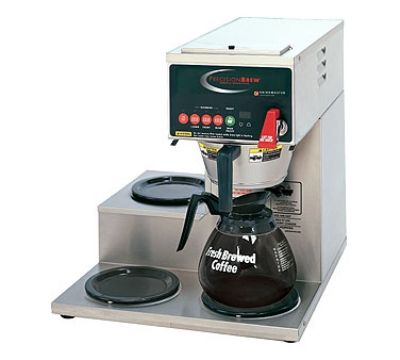 Grindmaster B-3WR Single Coffee Brewer w/ (3) Lower Warmers, Pour Over, 208v/1ph