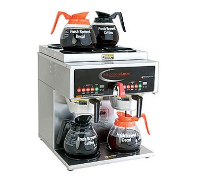 Grindmaster B-6 Dual Coffee Brewer w/ (4) Lower & (2) Upper Warmers, Fresh Brew, 208v/1ph