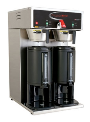 Grindmaster B-DGP Dual Coffee Brewer for Thermal Servers - Automatic, Fresh Brew, 208v/1ph